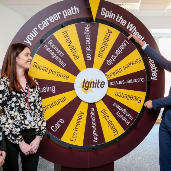 Ignite graduate programme wheel