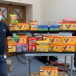 EatWell scheme receives dog food donations