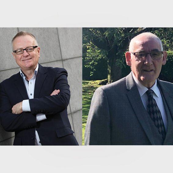 Paddy Gray and John McCraw