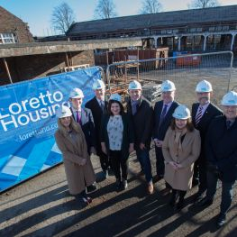 New Loretto homes are launched in Glasgow