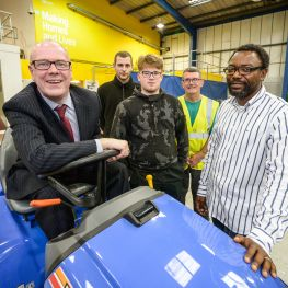 Housing Minister backs new employment programme
