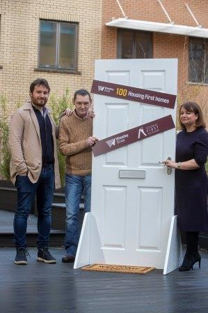 100th home handed over to Housing First partnership