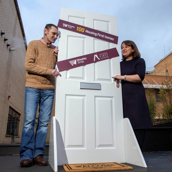 100th home handed over to Housing First partnership 2