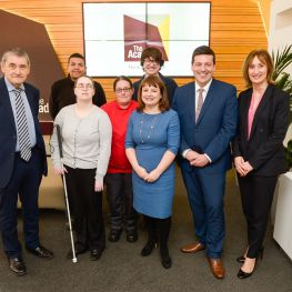Scottish Employability and Training Minister Jamie Hepburn launches Wheatley Works