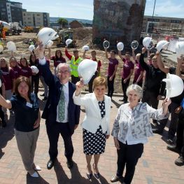 First Minister Nicola Sturgeon backs Wheatley's £185m funding deal
