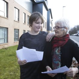 Music is breaking down the generation gap in north west Glasgow