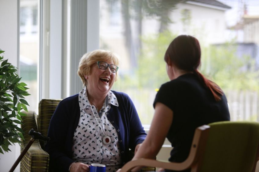 We provide specialist care and support services.