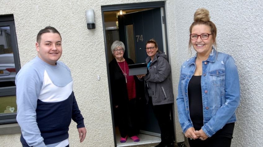 WLHP family move into new-builds