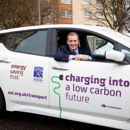 Cabinet Secretary Michael Matheson launches car share scheme