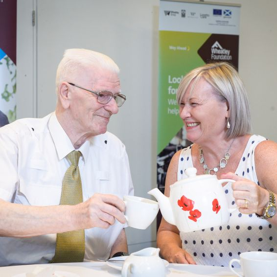 Just our cup of tea: Veterans tell of lifeline support from Wheatley Foundation