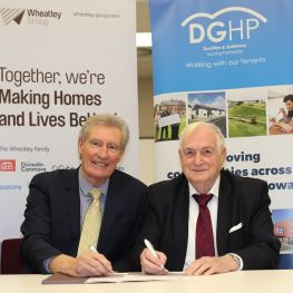 DGHP and Wheatley Chairs welcome new partnership