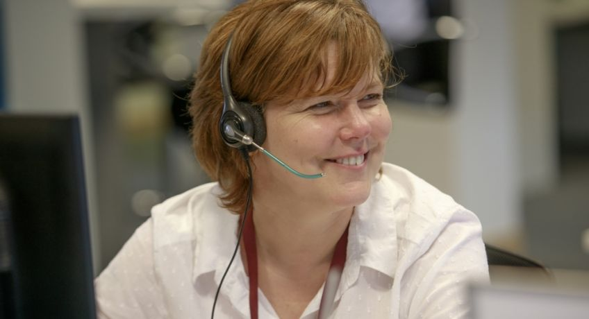 Our call centre staff are available 24 hours a day
