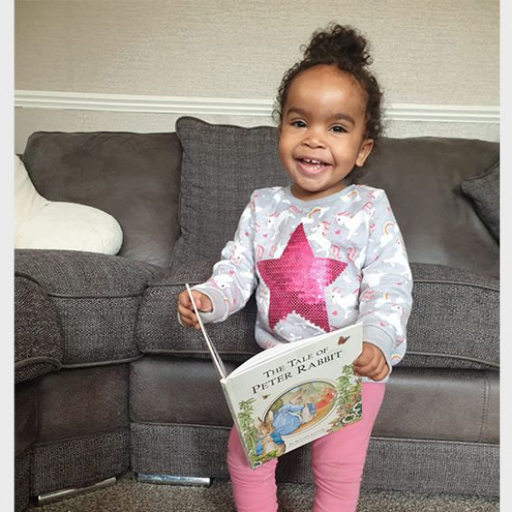 Wheatley helps toddlers get free books