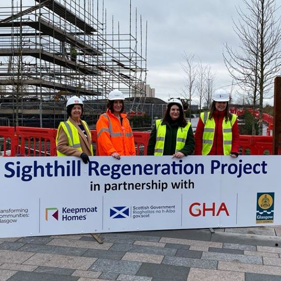 Sighthill regeneration project launch